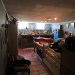 downstairs workshop