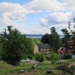 view toward Lake Möckeln