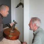 Daniel answers questions about his mandola