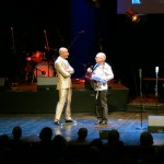 host Mark Levengood interviewing Torbjörn Näsbom