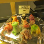 marzipan critters — the sheep was the cutest