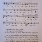 hymn we all sang during the short pre-concert service