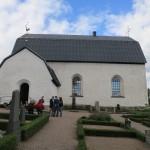 Tolfta kyrka from outside
