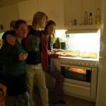 many pizzas (lydia, Einar, Jonathan)
