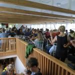 overflow crowd for Irish tune workshop