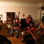 playing for dancing after concert