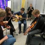 another high-powered session (Ida, Emma, Daniel, David)
