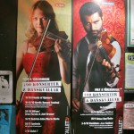 concert poster featuring Mia Marin (and her Per Klinga violina)