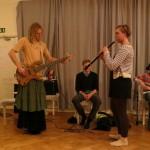 Boda polska on oboe and electric bass