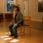 Agneta teaches us a song