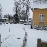 path from home to school (Thu 8:50a)