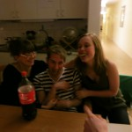 Johanna, David, Chloe