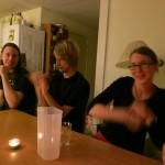 Jonathan, Einar, Saana