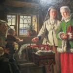 Godmother's visit, 1866, Johan Fredrik Höckert