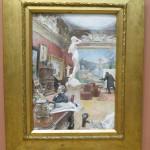interior of the Fürstenburg gallery, 1885, Carl Larsson