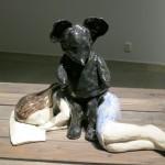 favorite piece from special exhibit by ceramicist Klara Kristalova